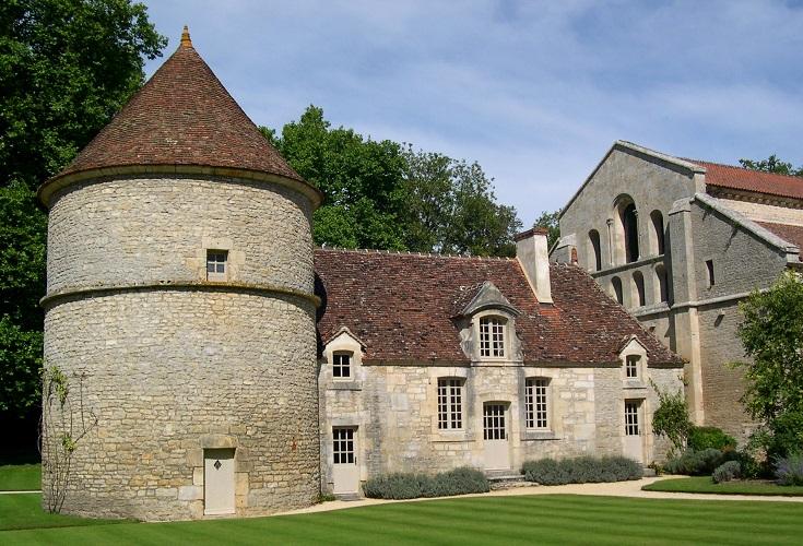 Dovecote, Abbaye de Fontenay, France