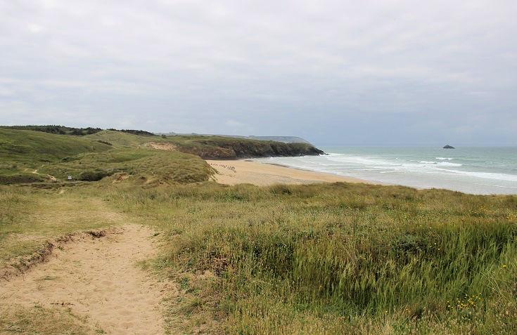 Dunes de Lostmarc'h, GR34, Brittany, France