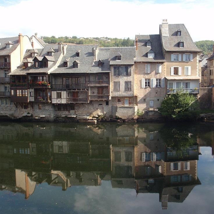 Espalion, GR 65, Chemin de Saint-Jacques, France