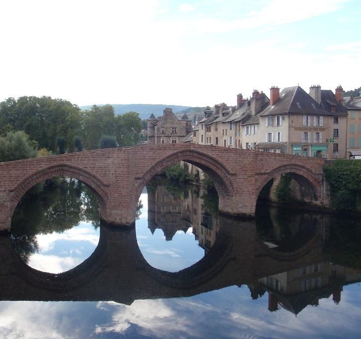 Pont-Vieux, Espalion, GR 65, Chemin de Saint-Jacques, France