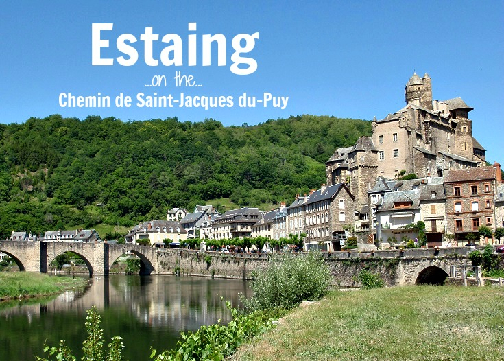 Estaing, GR 65, Chemin de Saint-Jacques, France