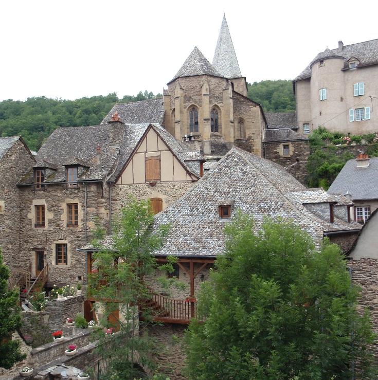 Estaing, GR 65, Chemin de Saint-Jacques, France