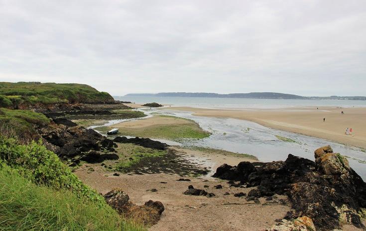 Estuary at Plage de l'Aber, Brittany