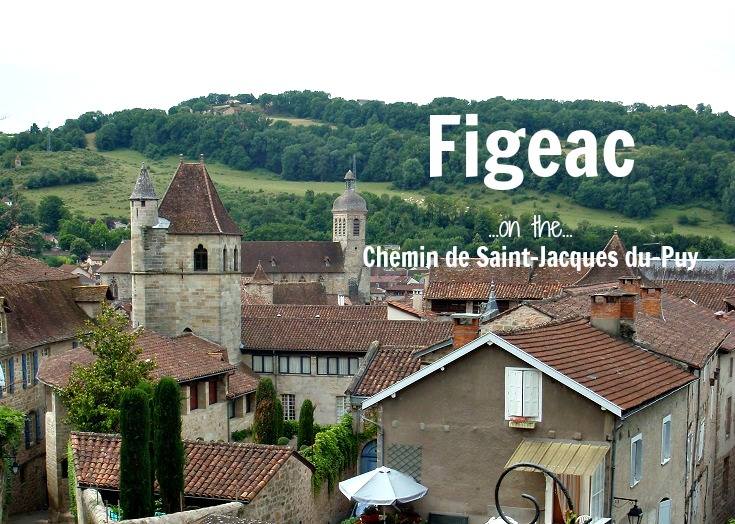 Figeac, GR 65, Chemin de Saint-Jacques, France