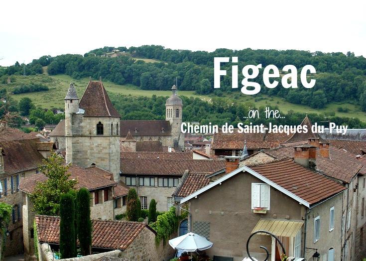 Figeac, GR 65, Chemin de Saint-Jacques, France
