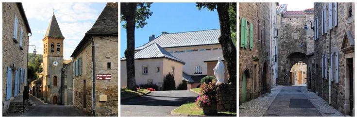 Villages on the GR 70 - Le Bleymard, Abbaye Notre-Dame and Le Pont-de-Montvert