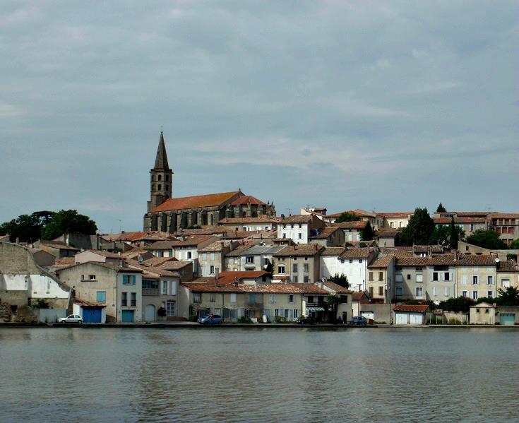 Grand Bassin, Castelnaudary, Midi Canal, France