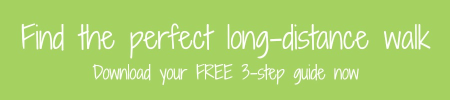Find the perfect long-distance walk - green button