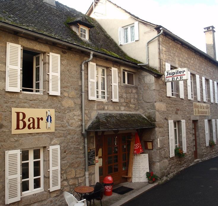 Hôtel de la Vallée, Espeyrac, GR 65, Chemin de Saint-Jacques, France