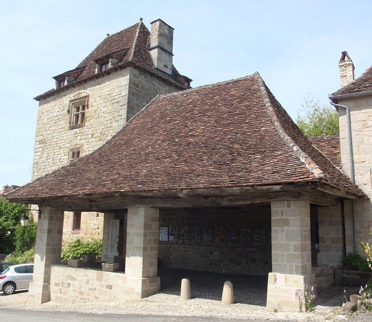 Halle, Curemonte, GR480, France