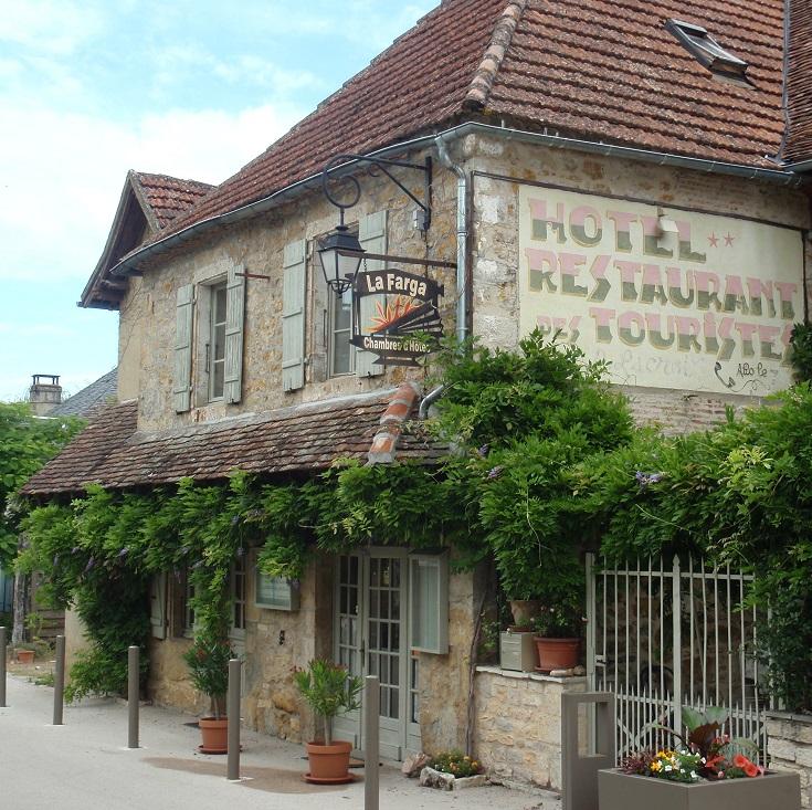 Hotel La Farga, Carennac, GR652, France