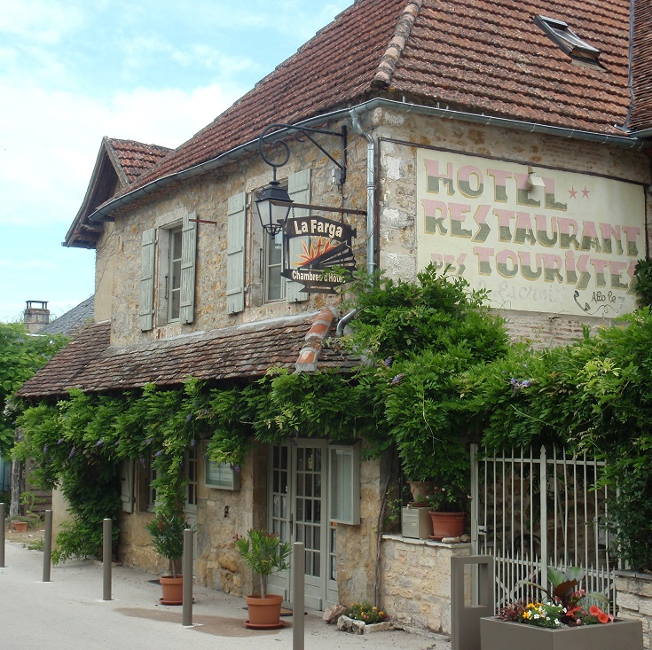 Hotel La Farga, Carennac, GR652, France