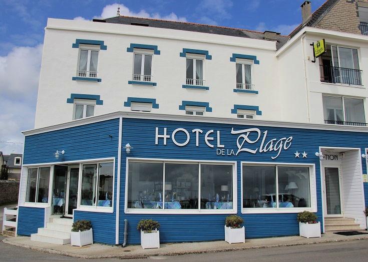 Hotel de la Plage, Trescadec, between Baie des Trepasses and Audierne