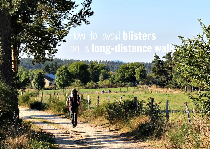 How to avoid blisters on a long-distance walk