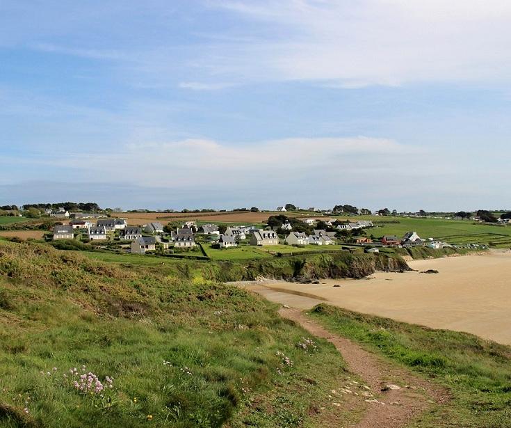 The village of Kervel, Brittany, France