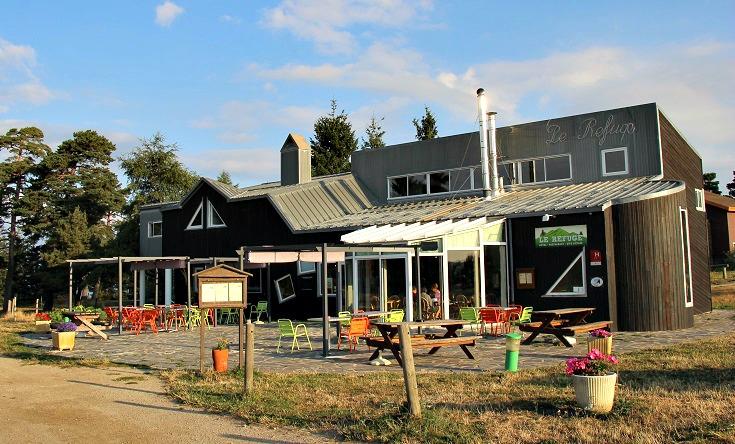 La Refuge, Station du Mont-Lozere, France
