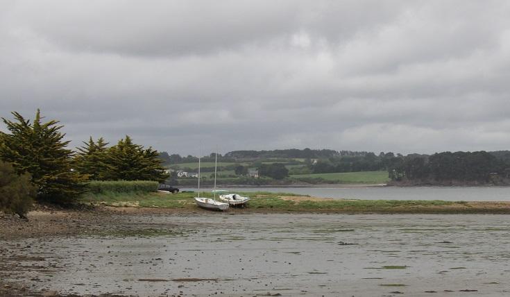 Landévennec, GR 34, Brittany, France