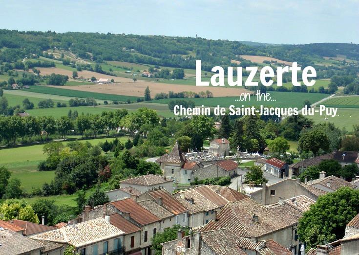 Lauzerte, GR 65, France