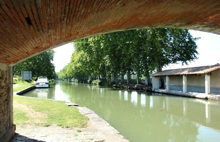 Lavoir, le Ségala, Midi Canal, France