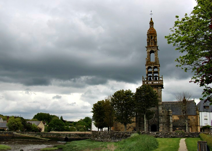 Le Faou, GR 34, Brittany, France