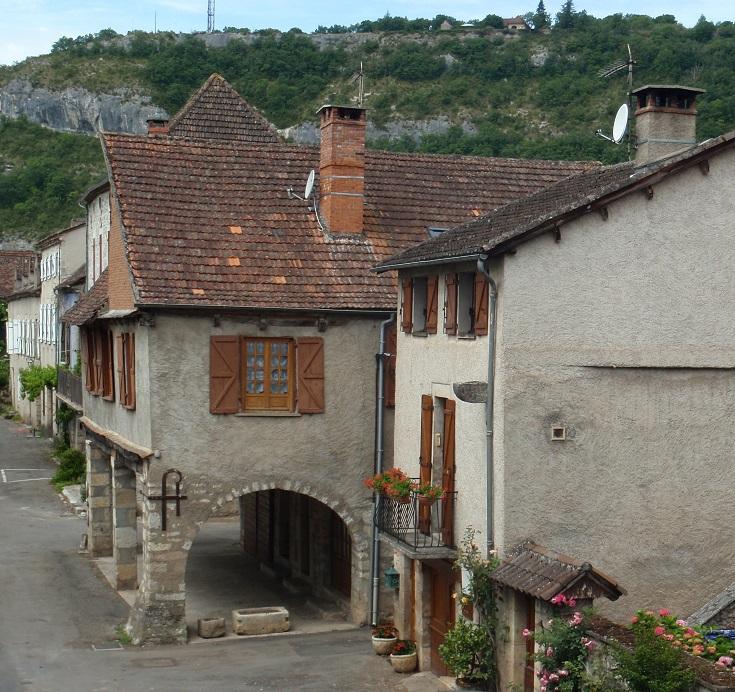 Le Faubourg, Cajarc, GR 65, France