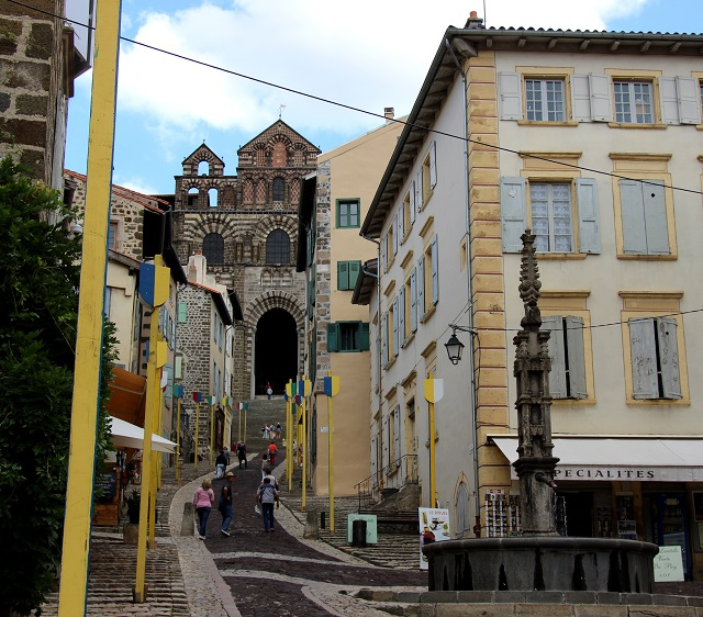 Le-Puy-en-Velay, GR 65, Chemin de Saint-Jacques, France