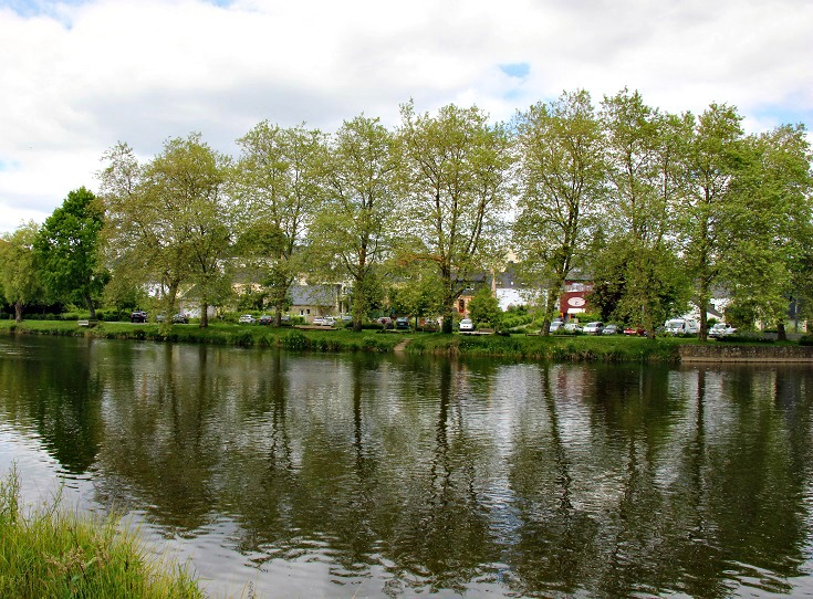 Lochrist, Blavet Canal, France