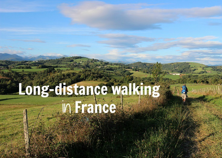 Long-distance walking in France