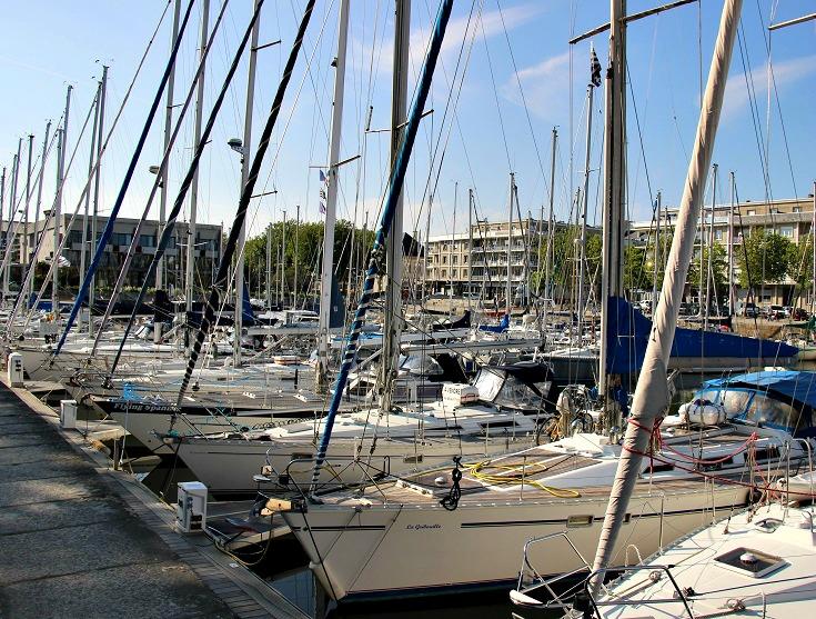 Lorient, Blavet Canal, France