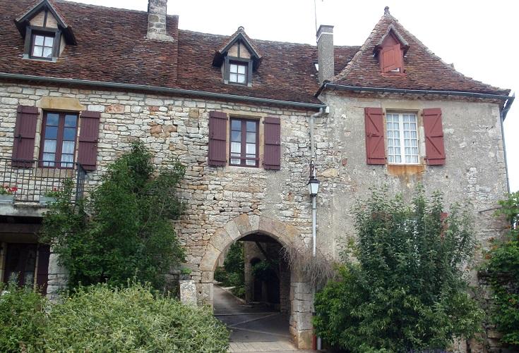 Loubressac, GR652, France