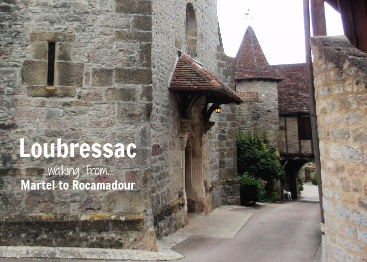 Banner photo of the stone church in Loubressac
