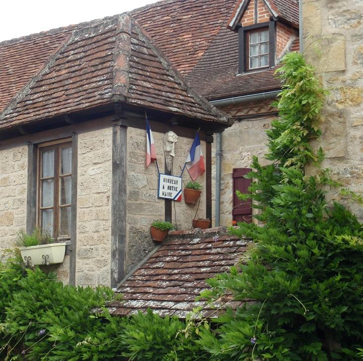 Mairie, Autoire, GR 652, France