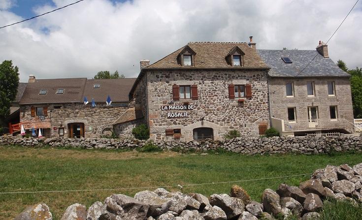 Maison de la Rosalie, Montgros, GR65 Chemin de Saint-Jacques, France