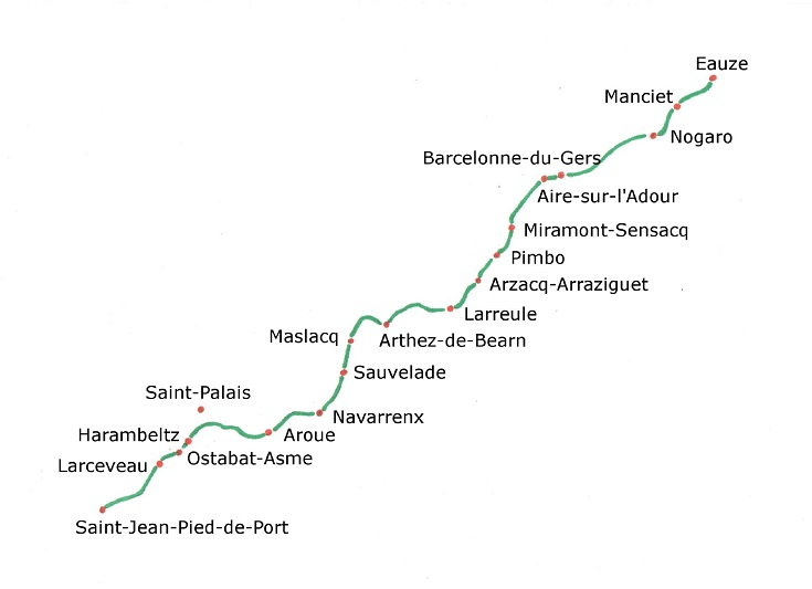 Stage 5 Eauze To Saint Jean Pied De Port I Love Walking