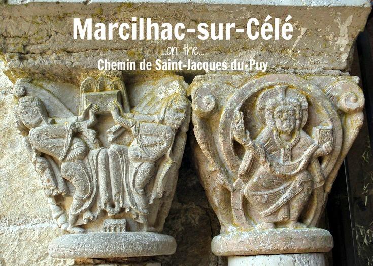 Marcilhac-sur-Célé, GR 651, France