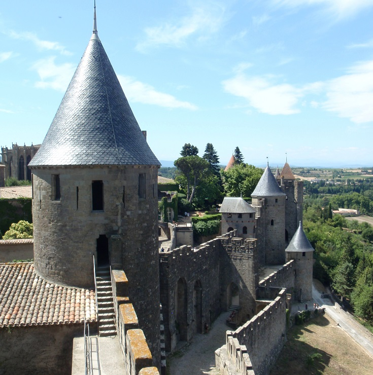 Medieval city, Carcassonne, France