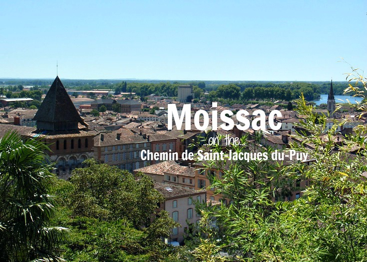 Moissac, GR 65, France