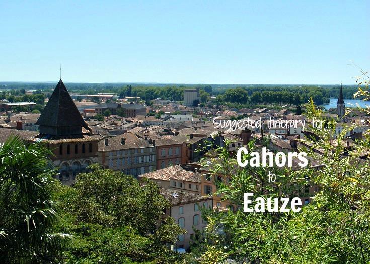 Moissac, Cahors to Eauze, GR 65, France