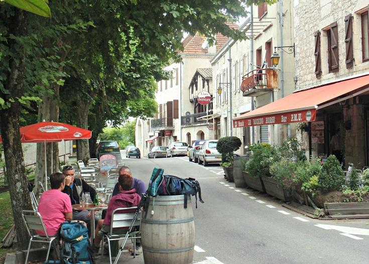 Montcuq, Chemin de Saint-Jacques
