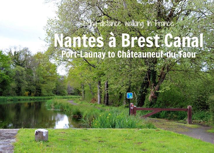 Nantes à Brest Canal, Port-Launay to Châteauneuf-du-Faou