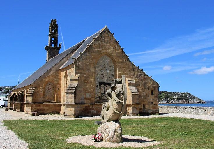Notre-Dame de Rocamadour, Camaret-sur-Mer, GR34, Brittany, France