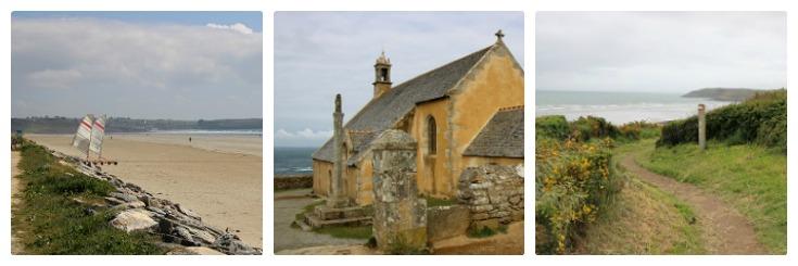 Pentrez, Chapelle de Saint-They. Plage de Ty Mark, Coast of Brittany guidebook