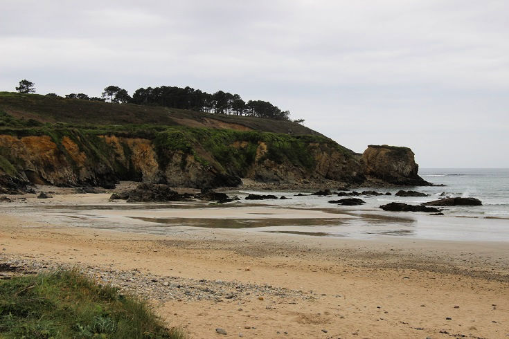Plage de Goulien, GR34, Brittany, France