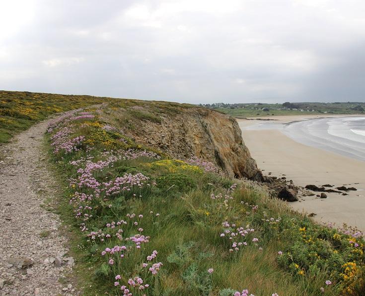Plage de Kerloc'h, Brittany, France