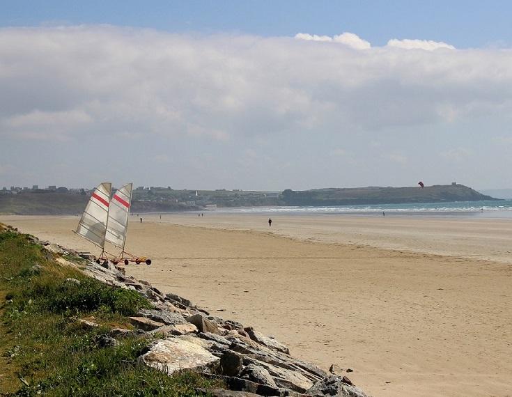 Plage de Pentrez, GR 34, Brittany, France