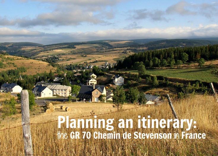 Planning an itinerary GR 70 Chemin de Stevenson