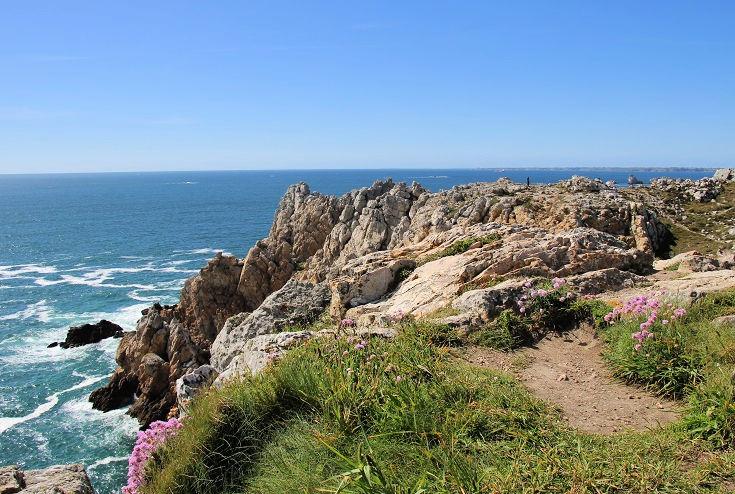 Pointe de Pen Hir, GR34, Brittany, France