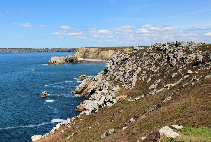 Pointe de Toulinguet, GR34, Brittany, France