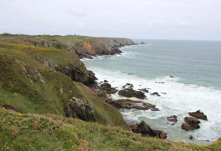Coastline at Pointe du Castelmeur