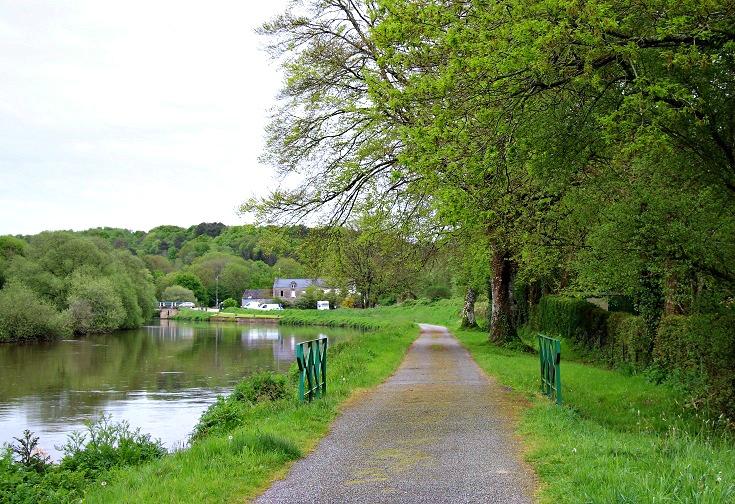 Pont-Augan, Blavet Canal, France